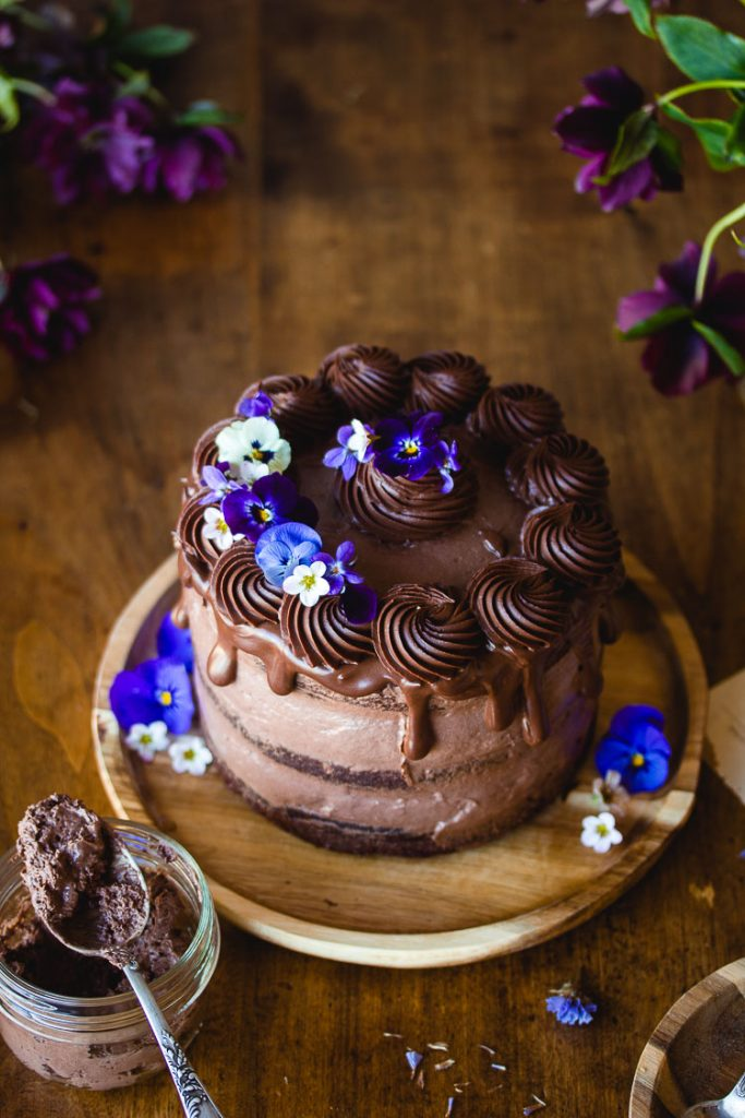 Gâteau à étages vegan