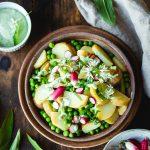 Salade de pomme de terre à l'ail des ours