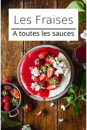 Recettes vegan aux fraises