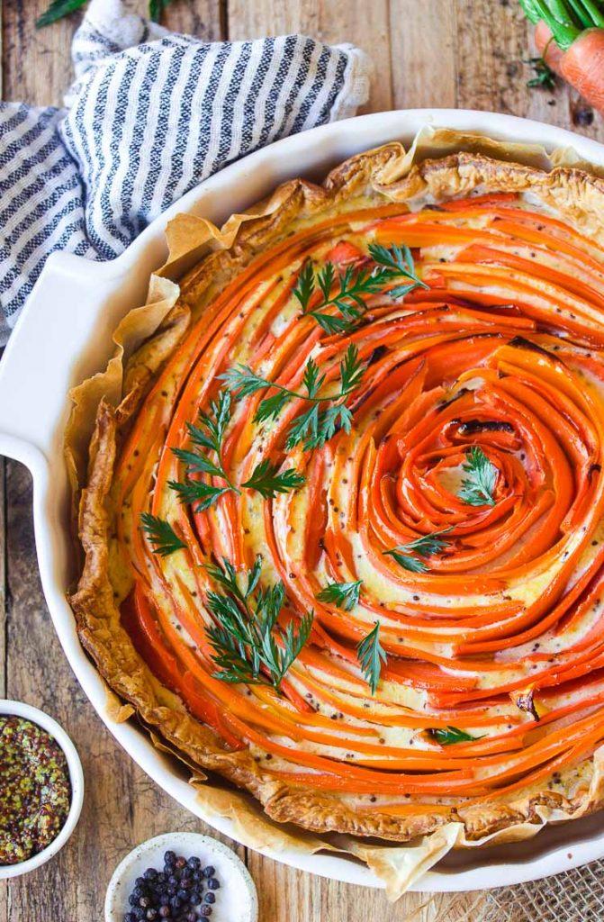 Comment faire une tarte tourbillon?