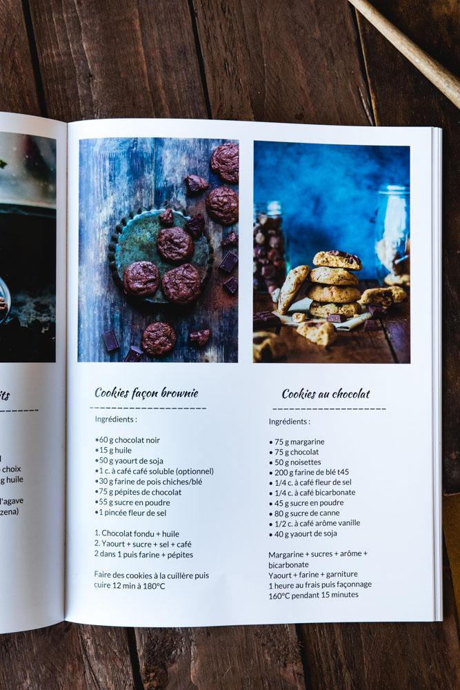 Organiser son livre de recettes sur le site CEWE