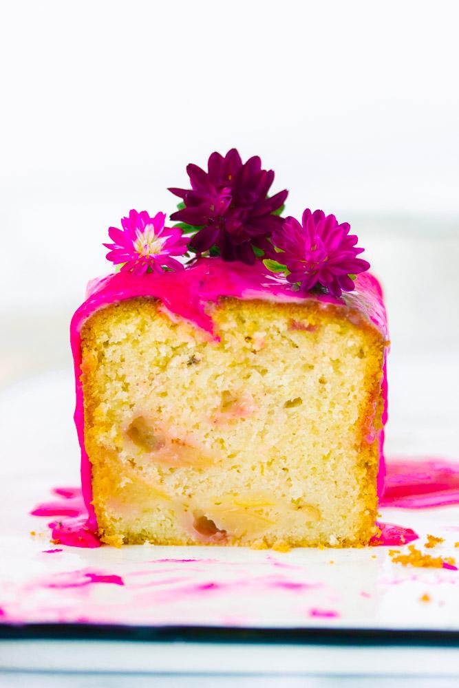 Cake sans oeufs au citron vert