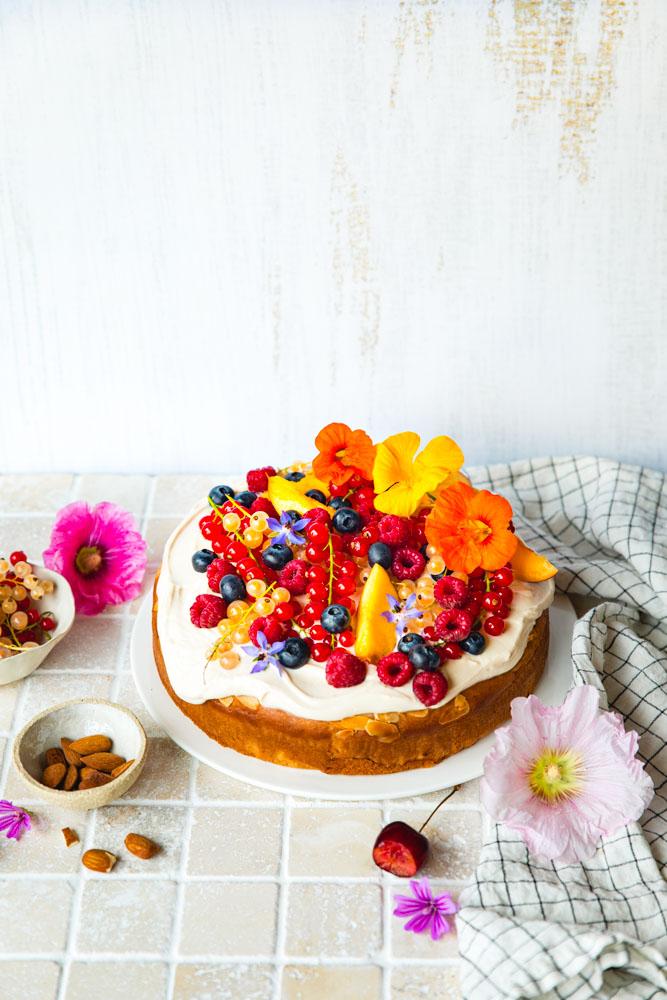 Gâteau vegan facile