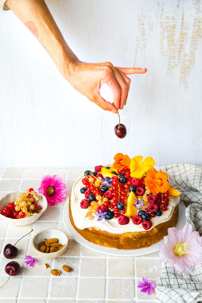 Gâteau au yaourt sans lactose