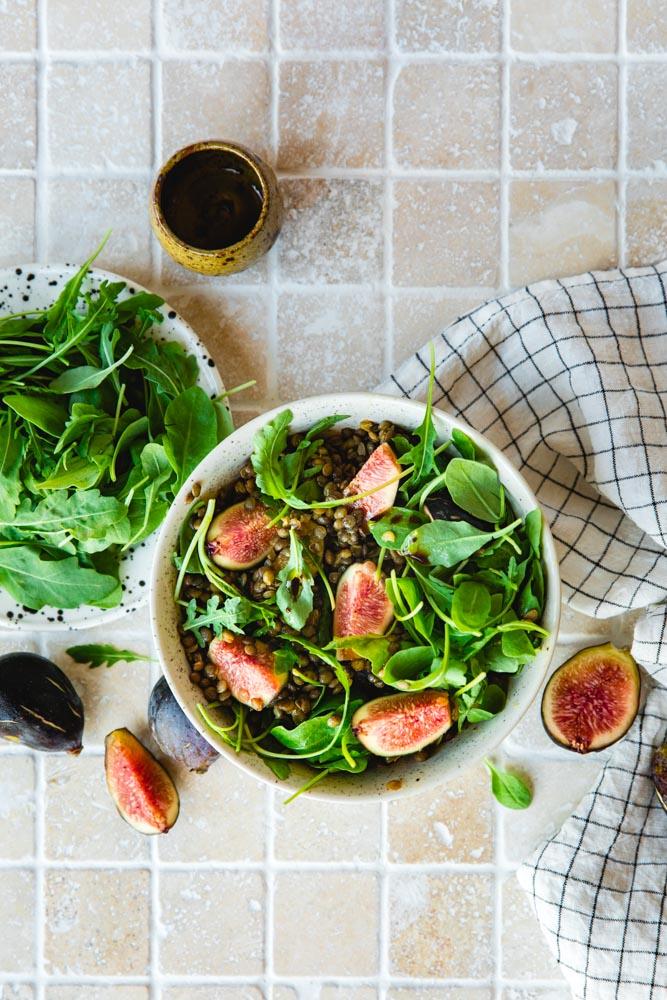 Recette de salade de lentille