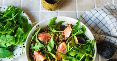 Recette de salade de lentilles
