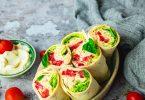 Wraps vegan façon thon mayonnaise